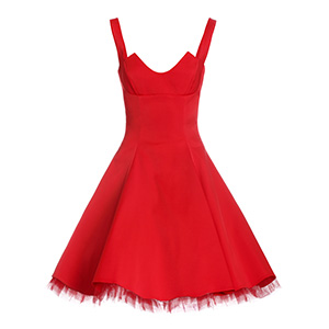 Red Dress sample for consolidation