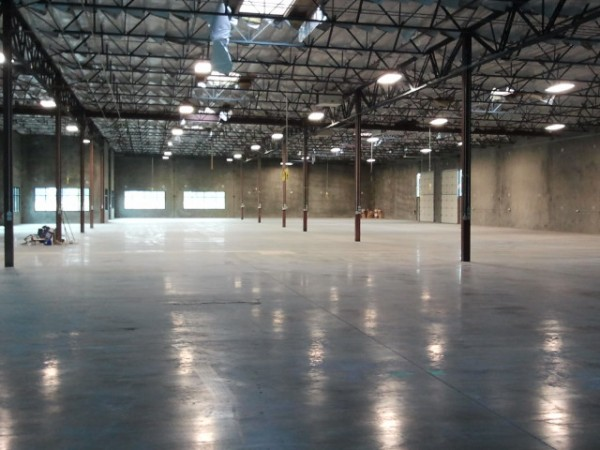 Empty new warehouse